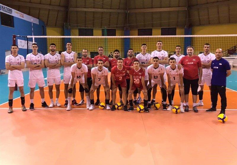 والیبالیستهای نوجوان ایران پیروز سومین مصاف با ایتالیا