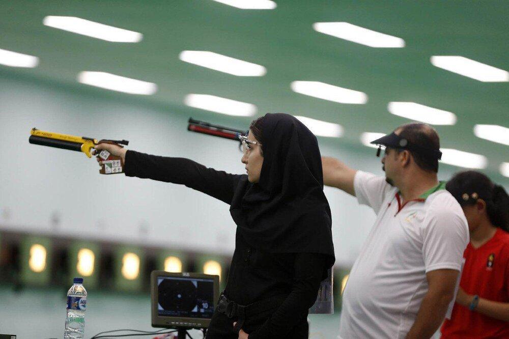 تفنگ بادی ۱۰ متر ایران از صعود به دور بعد بازماند/ خدمتی و صداقت پانزدهم شدند