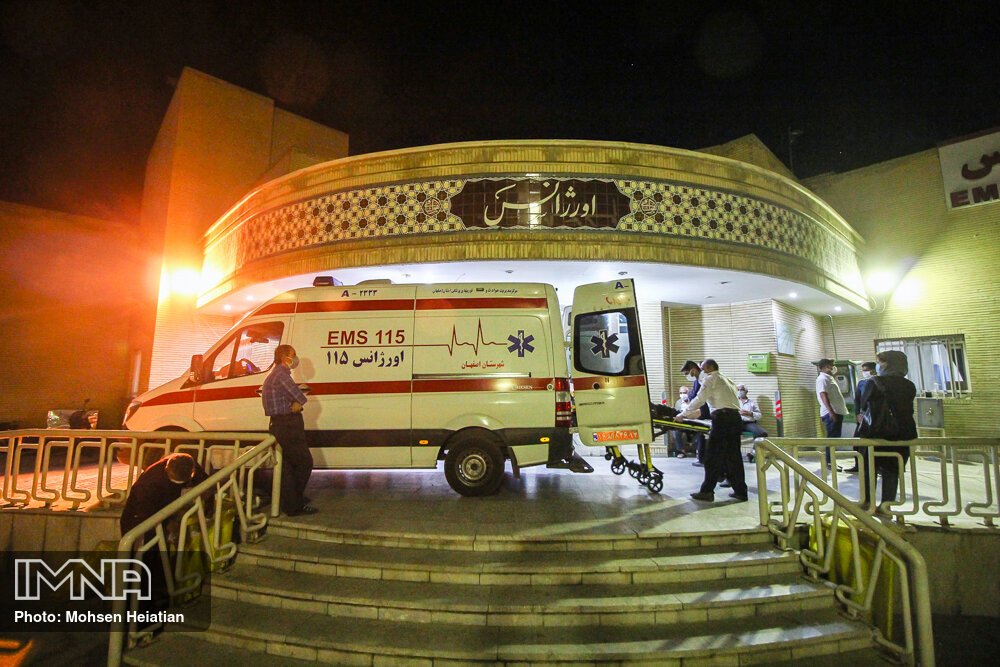 بستری ٥٤٤ بیمار مبتلا به کرونا در اصفهان تنها در یک روز