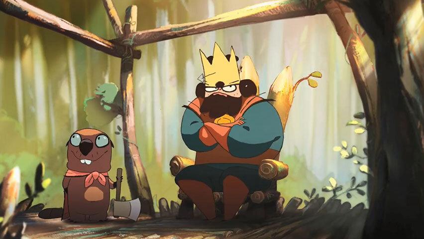 اکران منتخبی از انیمیشنهای کوتاه اروپای غربی