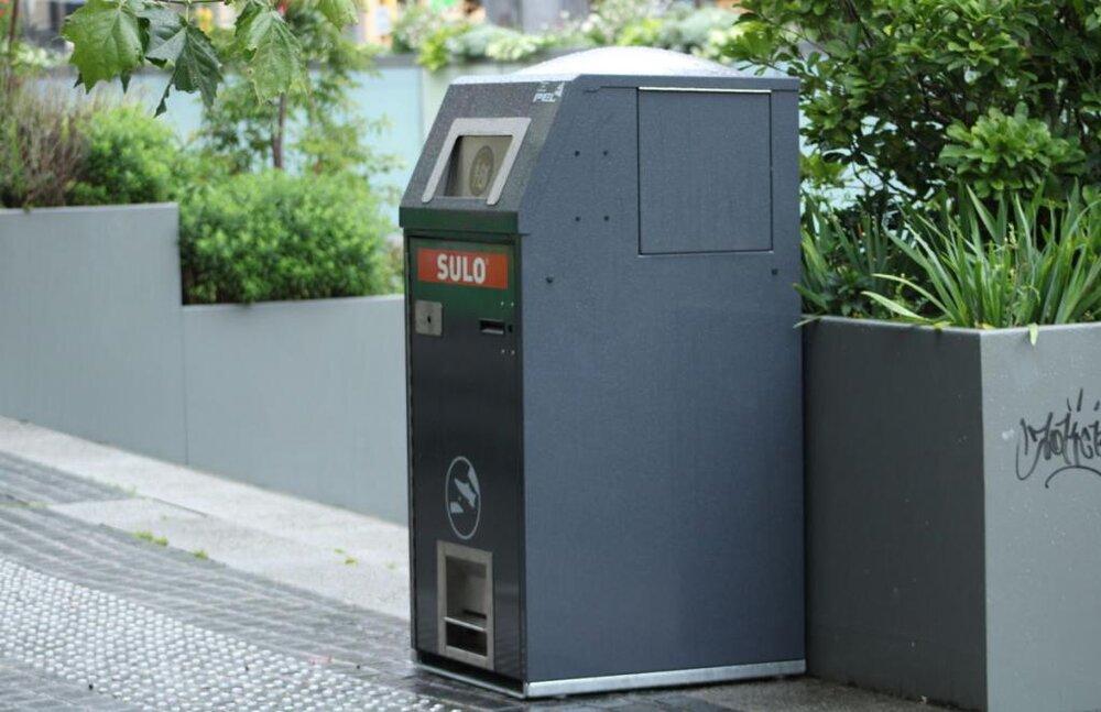 ظهور کانتینرهای هوشمند بازیافت در بلژیک