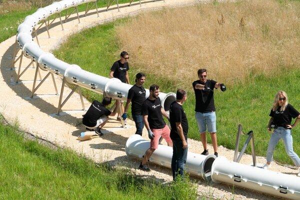 محققان در صدد بررسی پیشرفت هایپرلوپ سوئیس