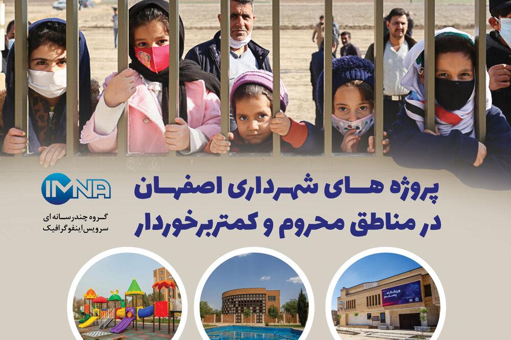 پروژههای شهرداری اصفهان در مناطق محروم و کمتر برخوردار