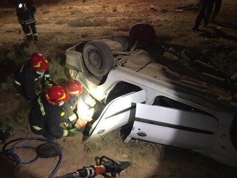۲ فوتی حاصل تصادف رانندگی بامداد امروز شیراز