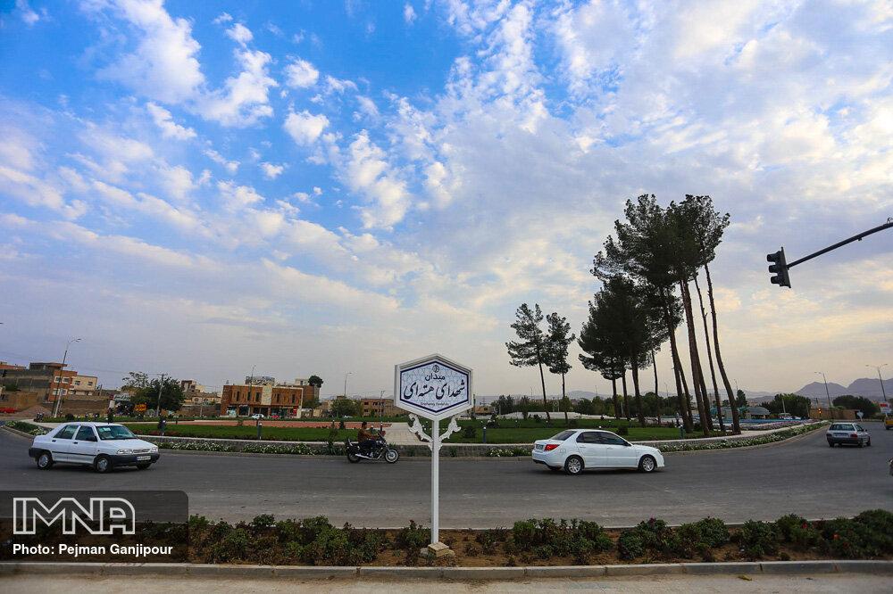 میدان شهدای هسته ای اصفهان