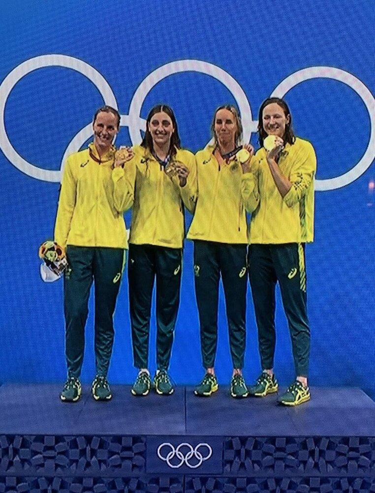 رکورد شنا ۱۰۰ متر آزاد زنان شکست