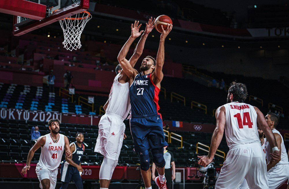 تمجید سرمربی تیم ملی بسکتبال فرانسه از حامد حدادی ۳۶ ساله