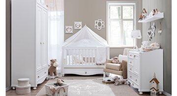 اتاق کودک ساده، مدرن و شیک + تزیین، دکوراسیون و عکس چیدمان اتاق نوزاد دختر و پسر ساده