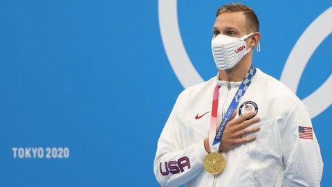 ظهور پدیده جدید آمریکاییها در شنا با پنج طلا!