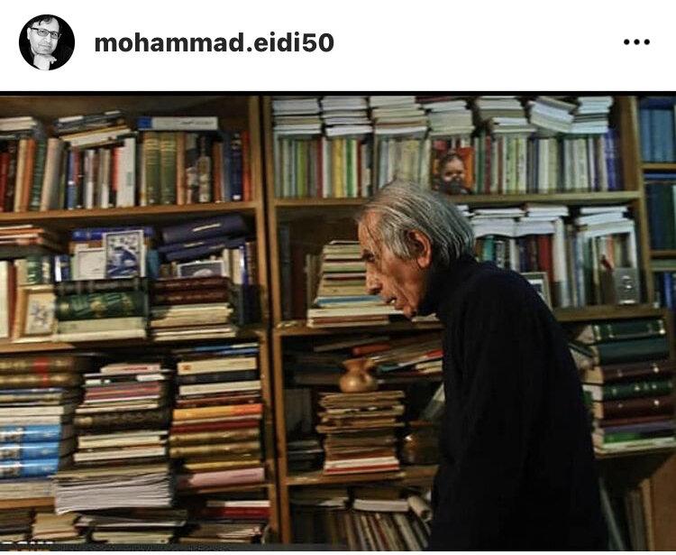 محمد عیدی از «جلال ستاری» نوشت