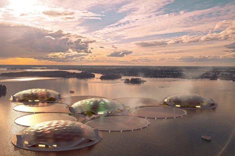 فنلاند میزبان جزایر مصنوعی کربن صفر