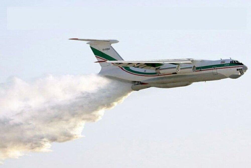 هواپیماهای آتشنشان ارتش برای اطفای آتشسوزی به تالاب انزلی اعزام شدند