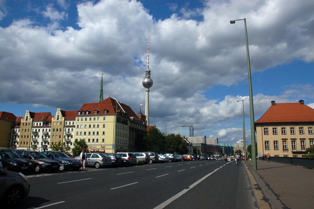 بازطراحی گذرگاه تاریخی آلمان برای ترویج تردد سبز
