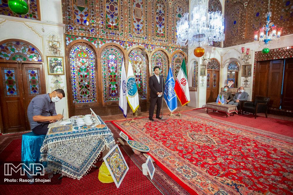 آیین تجلیل از برگزیدگان مسابقات جشنواره بینالمللی صنایع دستی ایران
