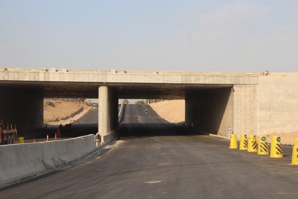آزادسازی مسیر رینگ چهارم در شرق اصفهان تکمیل شد