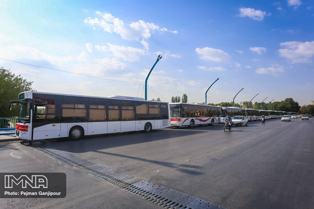 کرونا فعالیت اتوبوسرانی آبادان را بار دیگر متوقف کرد