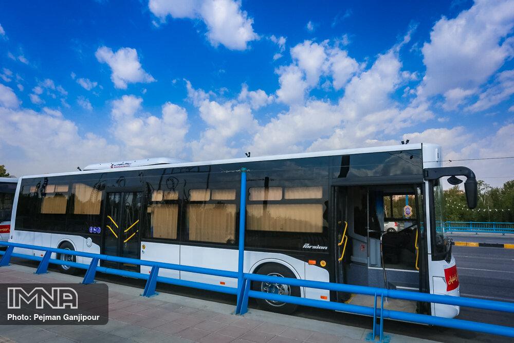 کاهش عمر ناوگان اتوبوسرانی قم