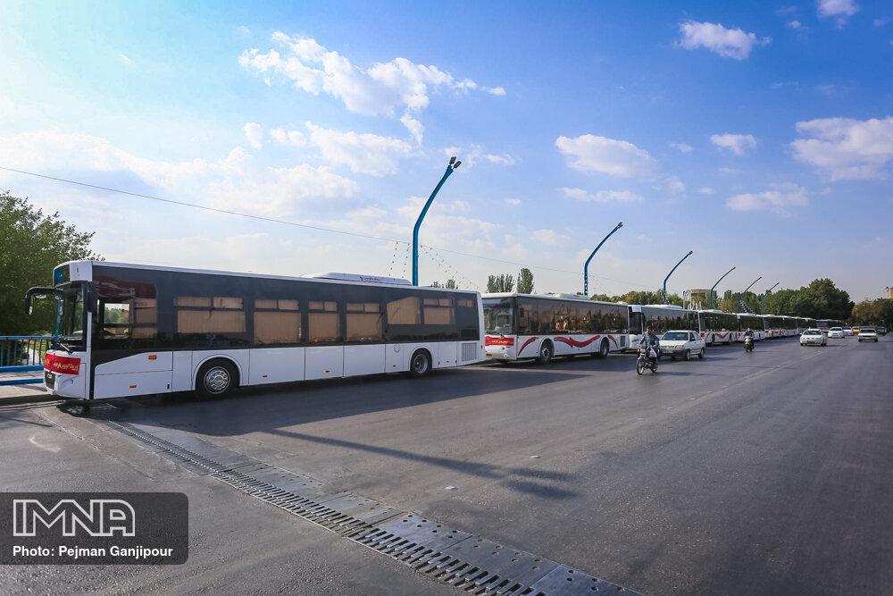 انجام بیش از ۱۱۲ میلیون و ۸۰۰ هزار نفر سفر با ناوگان اتوبوسرانی