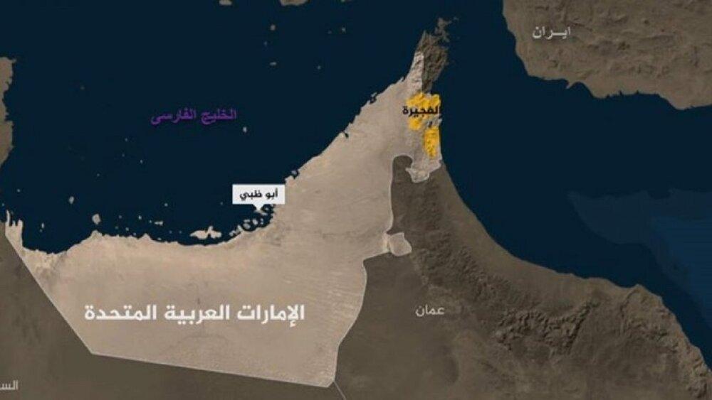حادثه امنیتی برای یک کشتی در نزدیکی بندر فجیره امارات