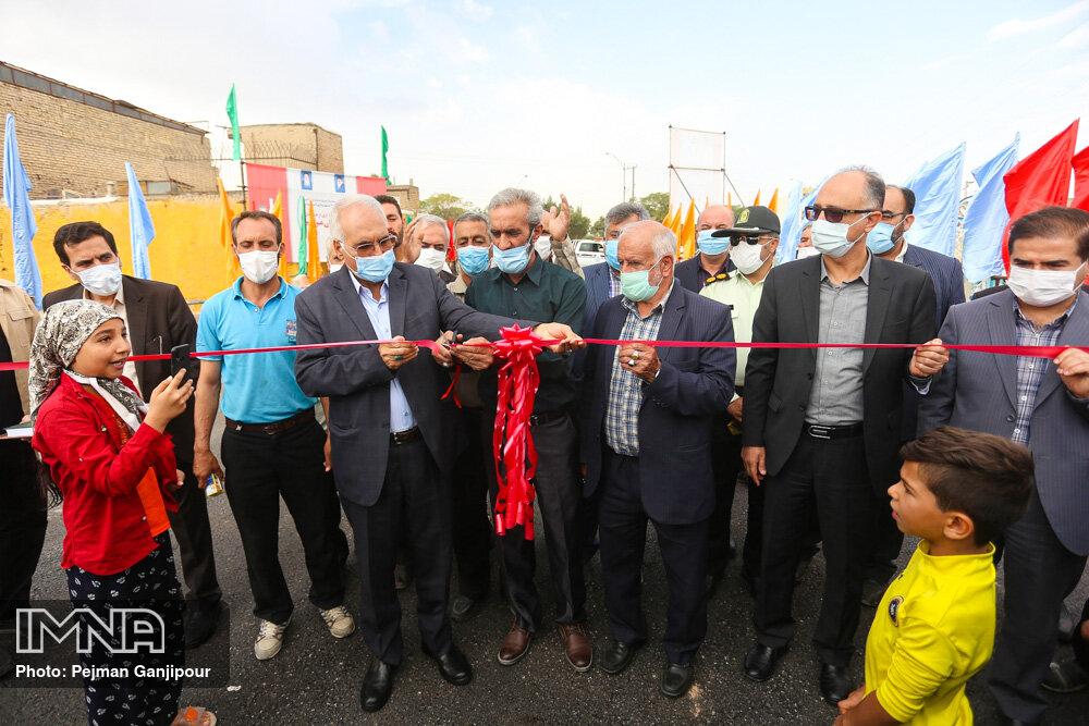 افتتاح پروژه های عمرانی منطقه ۱۴ شهرداری