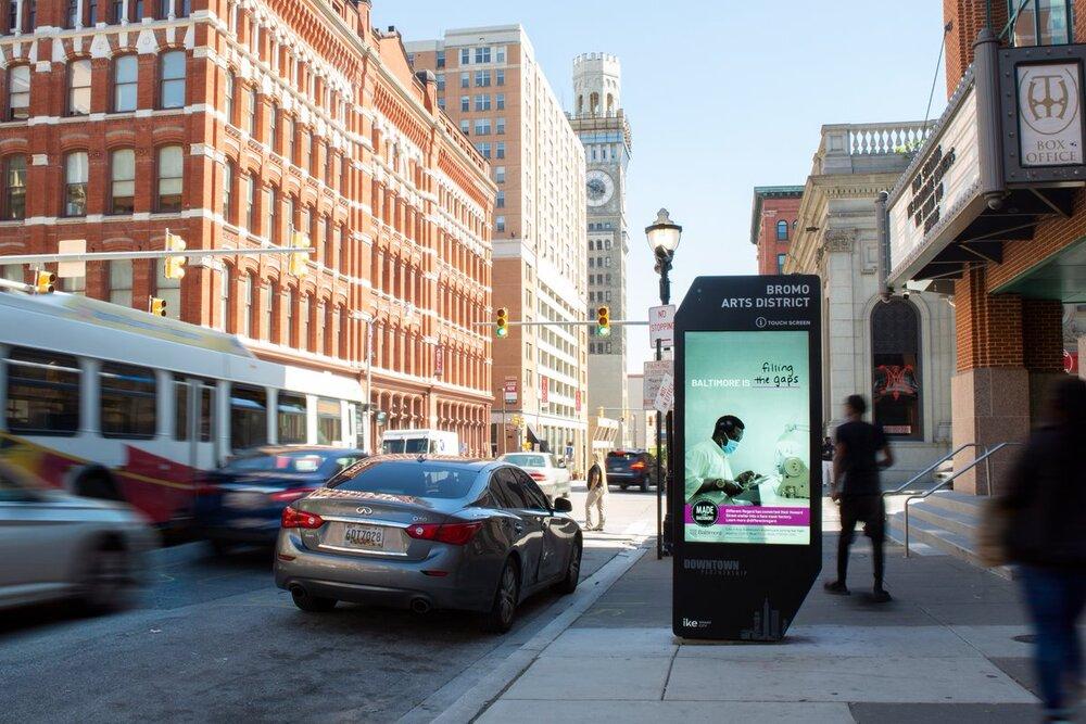 آمریکا میزبان تابلوهای هوشمند خیابانی