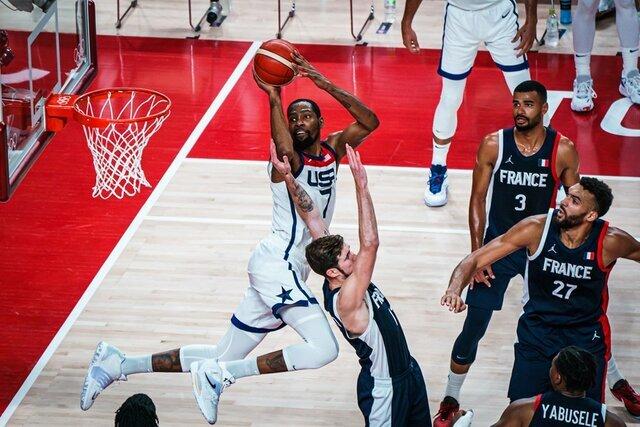 آمریکا قهرمان بسکتبال المپیک شد