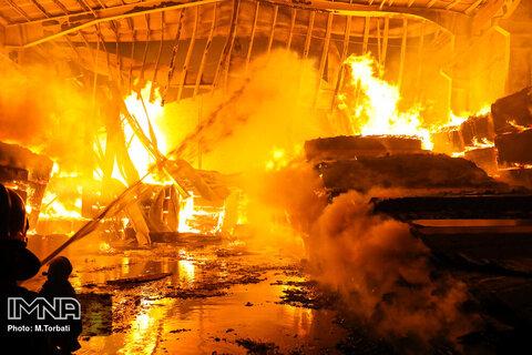 آتش سوزی خانه ویلایی در بندرانزلی مصدومی نداشت