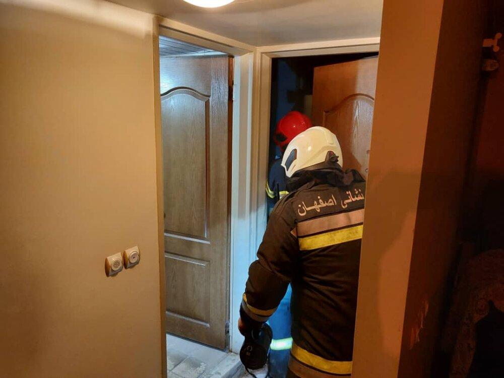 کشف جسد پیرمرد اصفهانی در منزلش+ عکس