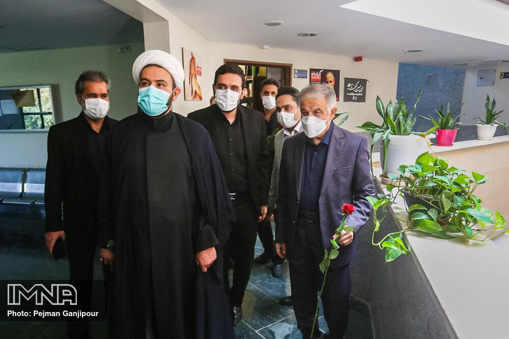 بازدید اعضای شورای شهر اصفهان از مجتمع مطبوعاتی و خبرگزاری ایمنا