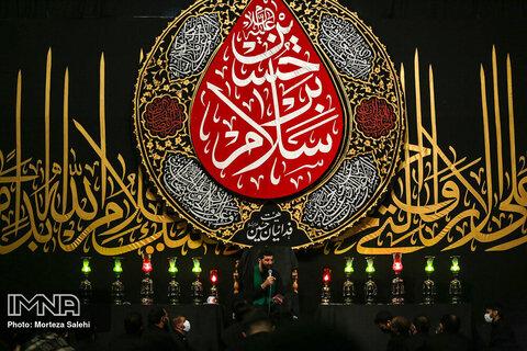 عزاداری شب سوم محرم؛ هئیت فدائیان حسین اصفهان