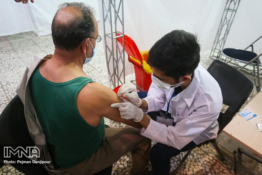 آخرین وضعیت واکسیناسیون معتادان مراکز ماده ۱۶