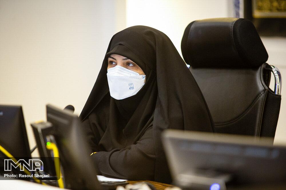 زنان امید شهرداری اصفهان در خدمترسانی هستند