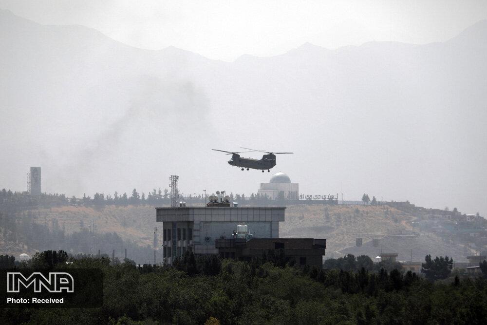 بقایای بدن افغانها در چرخ هواپیمای آمریکایی برخاسته از فرودگاه کابل