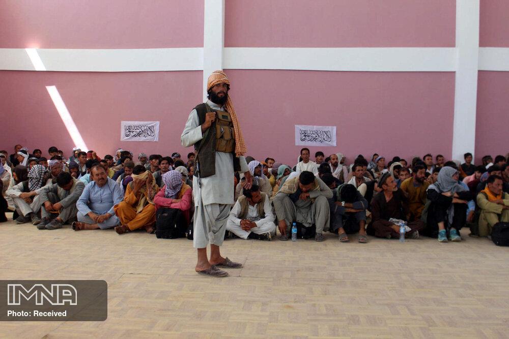 طالبان ۴ نفر را در ملاء عام به دار آویخت