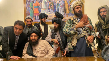With Ghani out of picture, Taliban waltz into Kabul presidential palace