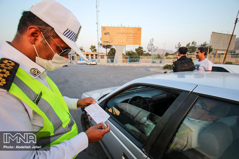 ثبت تخلف ۵۰۰ هزار خودرو از یکشنبه تا امروز