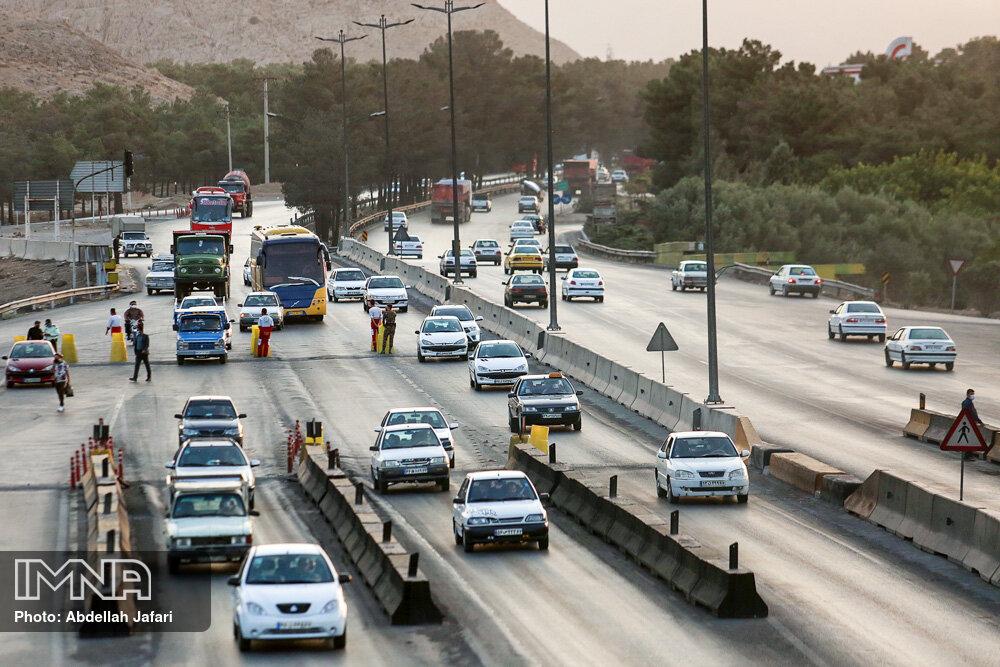کاهش ۴۵ درصدی ترددهای بین استانی در ایام تعطیلات گذشته