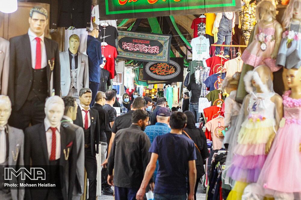 روزهای سیاه کرونا؛ بازار اصفهان