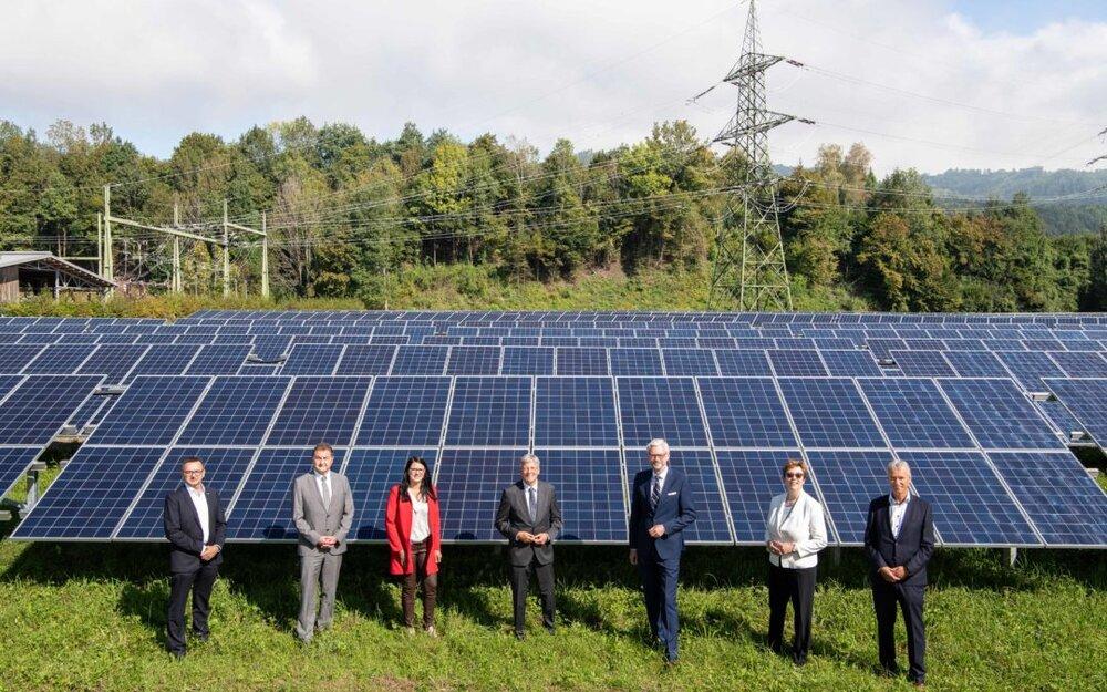 آغاز به کار بزرگترین مزرعه خورشیدی اتریش