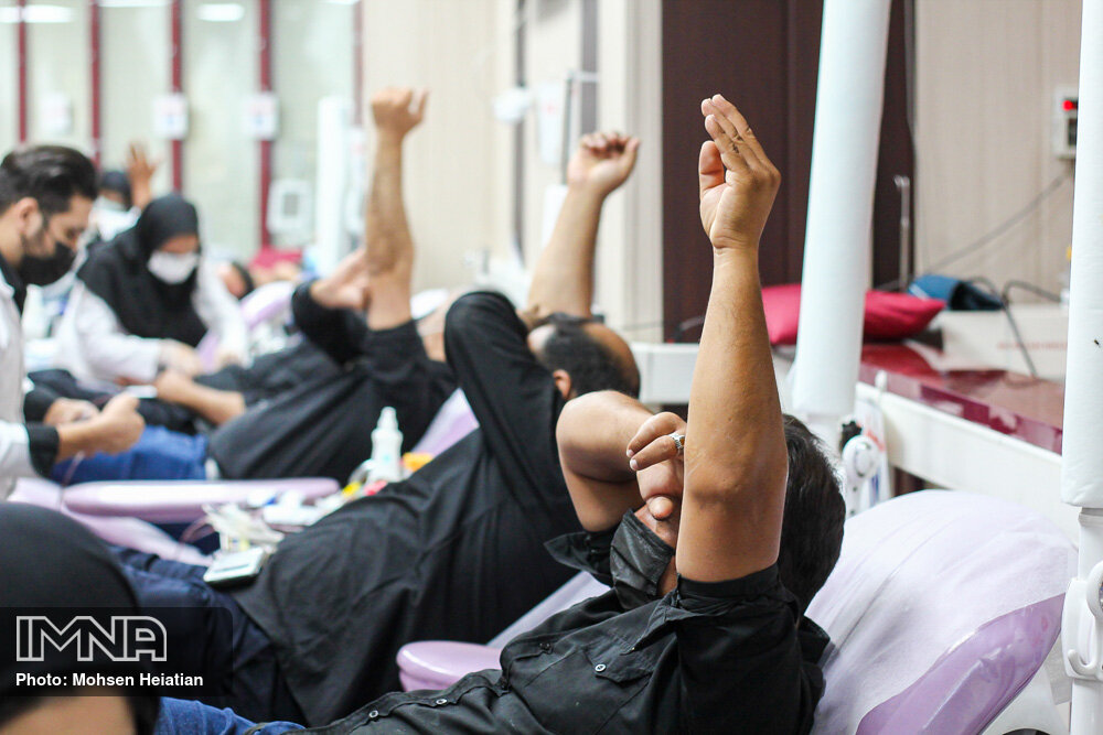 Blood donation movement in Muharram