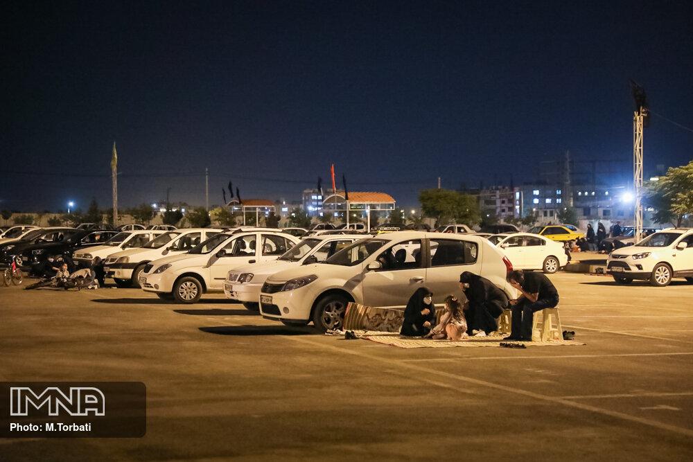 پذیرش شبانه روزی خودروهای باری هیاتهای مذهبی در توقفگاههای شهرداری