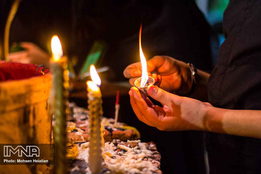 The night of the oppressed held in Iran