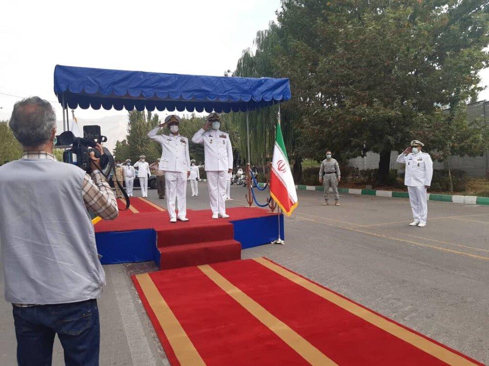 استقبال رسمی امیر دریادار شهرام ایرانی از فرمانده نیروی دریایی پاکستان