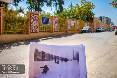 Then and now pictures of Hamedan
