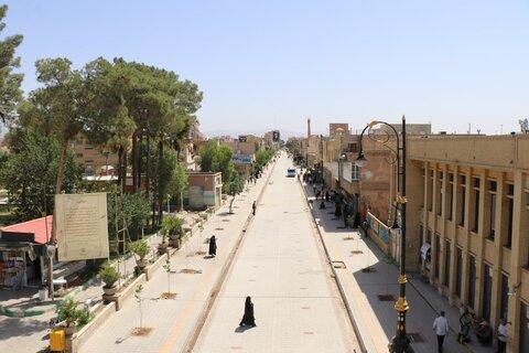 پیادهراه ساوه اوایل آذرماه به بهره برداری میرسد