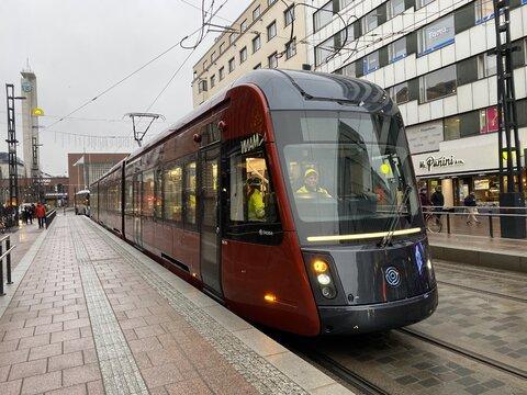 تراموای شهر فنلاندی تامپره با یک دهم بودجه مد نظر به اتمام رسید!