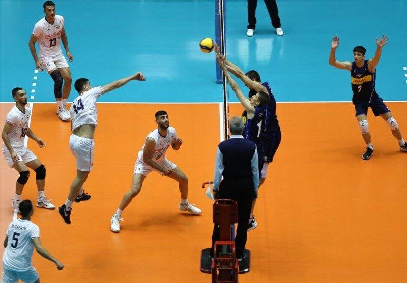 هتریک والیبالیست ایران در پیروزی/ صعود بلندقامتان به عنوان صدر نشین