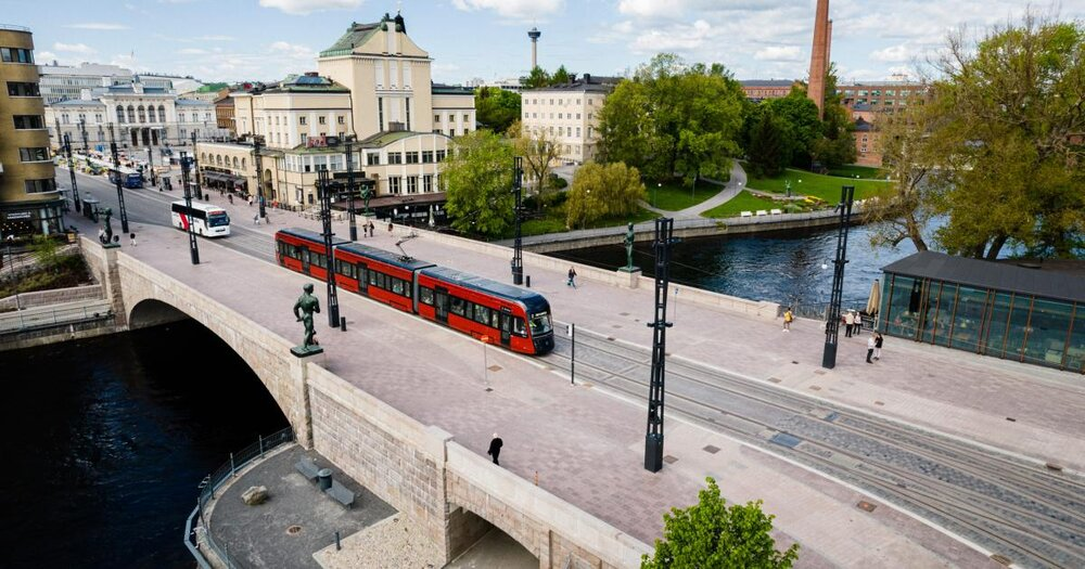 تراموای فنلاند با یک دهم بودجه مد نظر به اتمام رسید!