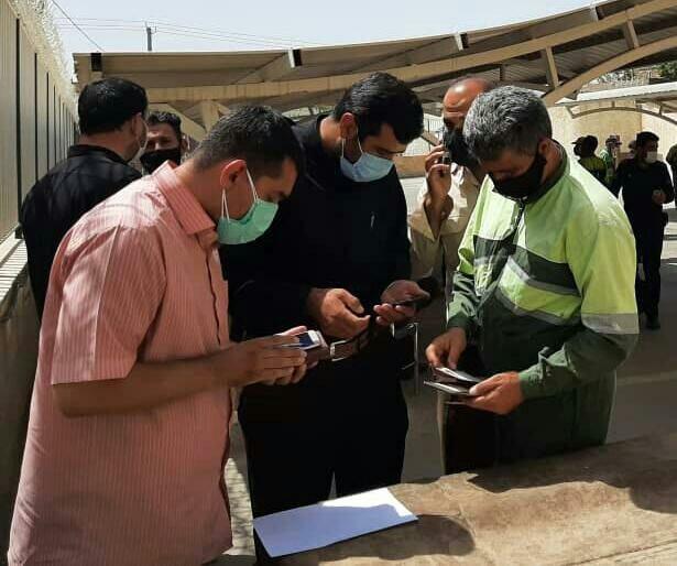 واکسیناسیون بیش از ۸۰۰ نفر از کارگران فضای سبز مشهد