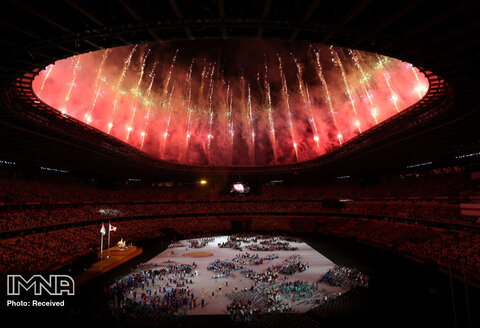 آتش بازی خارق العاده پارالمپیک توکیو 2020